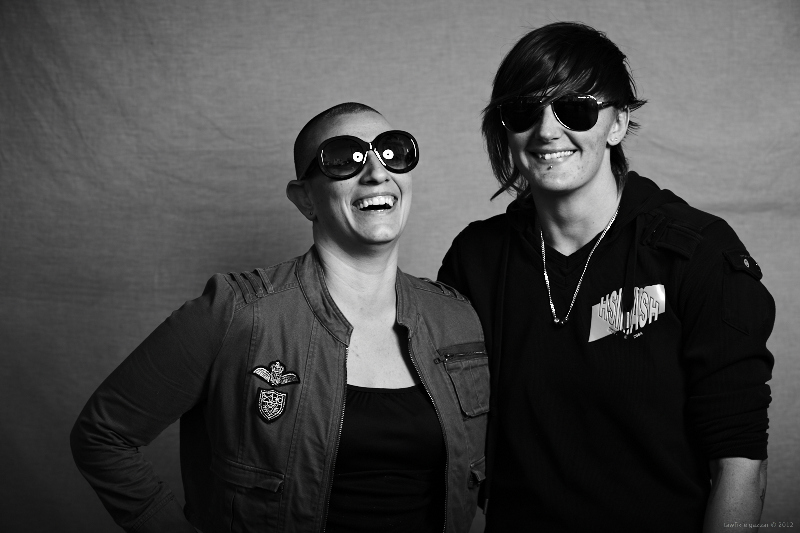 Bec and Eleni