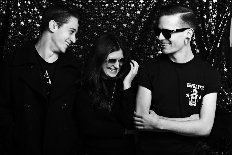 Bryce, Elenka and Marcus