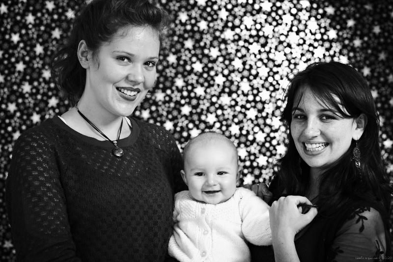 Hannah, Asher and Hani